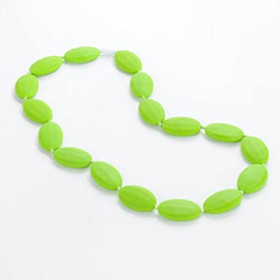 Sassy Baby Beads Mommy and Baby Oval Chew Teething Beads Necklace by Sassy Baby Beads