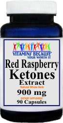 #1 Value Raspberry Ketones 90 Capsule Bottle - 45 Day Supply - 900Mg Per Serving - Promotes Fat Buring - No Fillers! This Is A Dr. Oz Favorite And A Great Value!!
