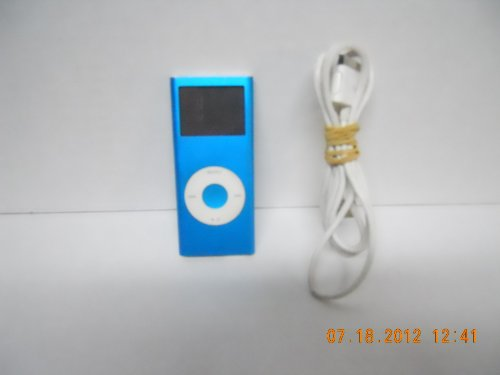 "Apple Ipod Nano 2Nd Generation 4Gb Digital Music Player W/1.5"" Lcd (Blue)"