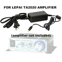 Parts Express Lepai Amplifier 12V 2A Power Supply