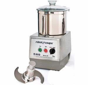 Robot Coupe R602B 7 Quart Stainless Food Cutter Mixer Commercial w/ S Blade