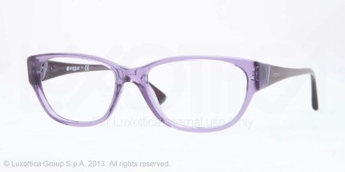 Vogue Vo2841 Eyeglasses-2121 Violet Transparent-54Mm
