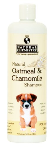 Natural Chemistry Natural Oatmeal and Chamomile Shampoo for Dogs -- 16.9 fl oz