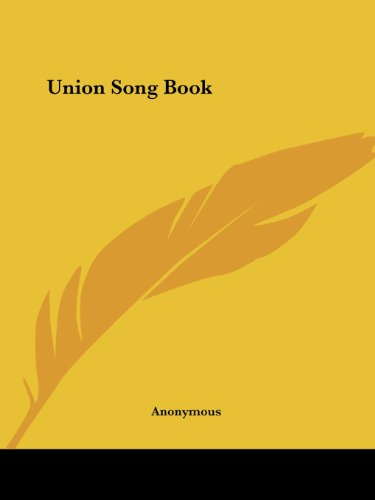 Union Song Book front-987250