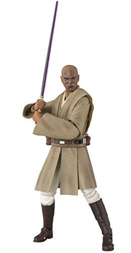BANDAI S.H.Figuarts Mace Windu (Star Wars) about 150mm ABS & PVC painted action figure