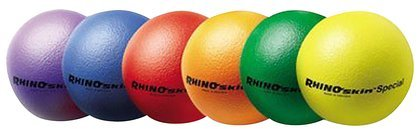 Champion Sports Rhino Skin Dodgeball Set front-62729