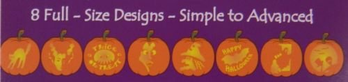 Harold Imports 8 Pumpkin Carving Patterns Halloween