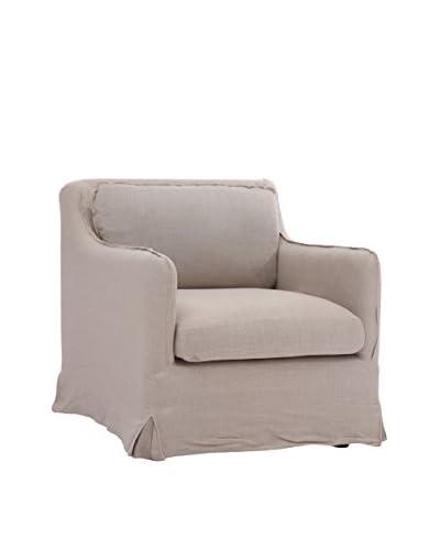 Zuo Modern Pacific Heights Arm Chair, Beige