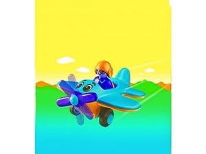 Playmobil - 6717 - Jeu de construction - Pilote / avion