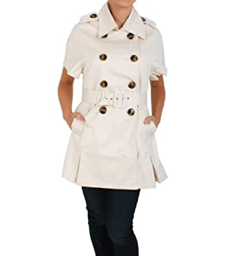 Love Spray Belted Jacket Dress in Cream