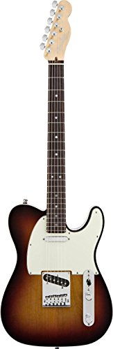 Fender American Deluxe Telecaster Electric Guitar, 3 Tone Sunburst, Rosewood Fretboard (Fender American Telecaster Deluxe compare prices)