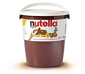 nutella 3 kg 6 6 lb tub grocery gourmet food. Black Bedroom Furniture Sets. Home Design Ideas