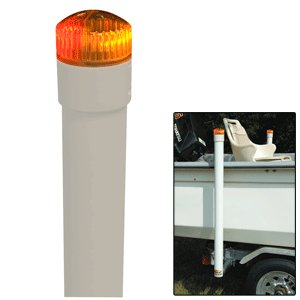 """Brand New C.E. Smith - Ce Smith 60"""" Post Boat Guide On W/ Led Top Light """"Product Category: Boat Outfitting/Trailer Accessories"""""""