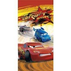 Childrens/Kids Disney Cars Drift Design 100% Cotton Beach/Bath Towel (30inch x 60inch (75cm x 150cm)) (Red)