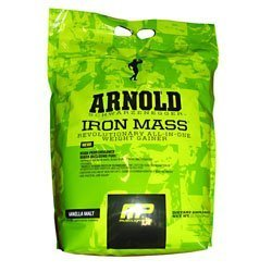 Arnold By Musclepharm Iron Mass Vanilla Malt 10 LBS by Arnold By Musclepharm