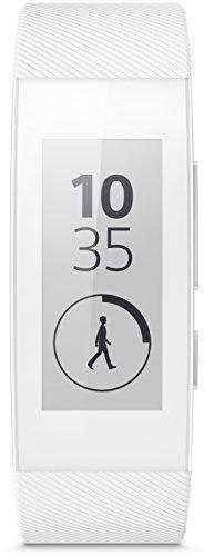 Sony SWR30W SmartBand Talk Braccialetto, Bianco