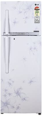 LG GL-D372HDWL Frost-free Double-door Refrigerator (335 Ltrs, 4 Star Rating, Daffodil White)