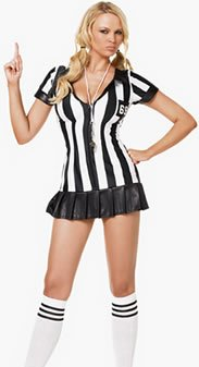 Leg Avenue LA83067-SM Game Official Adult Costume Size Small-Med