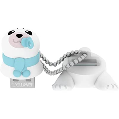 EMTEC Animalitos 8 GB USB 2.0 Flash Drive, Baby Seal