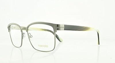 TOM FORD Eyeglasses FT5323 008 Shiny Gumetal 54MM