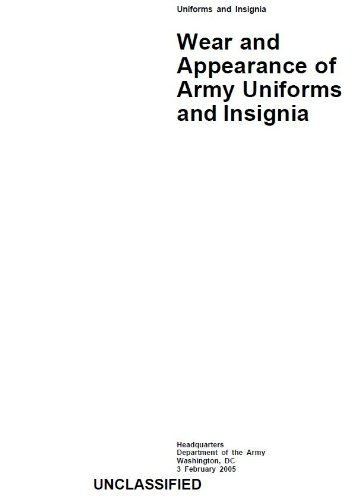 army-regulation-ar-670-1-wear-and-appearance-of-army-uniforms-and-insignia-february-2005-english-edi