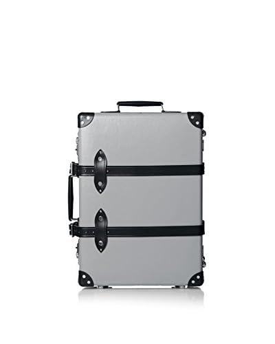 Globe-Trotter 21″ Centenary Trolley Case, Grey/Black