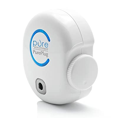 PurePlug Air Purifier - Small Space Direct Plug-in Purifier Cleans the Air of Bacteria, Viruses, Fungi, & More - Ozone Regulator Designed to Completely Destroy Odors