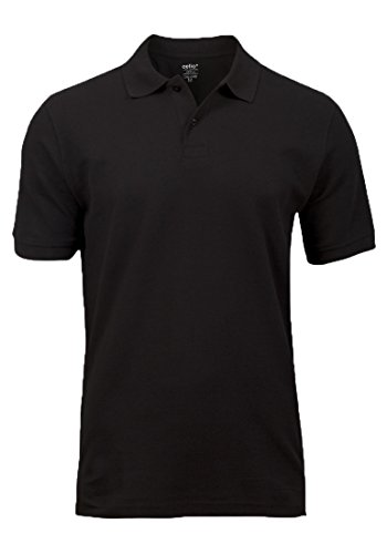 Celio -  Polo  - Con bottoni  - Uomo nero Large