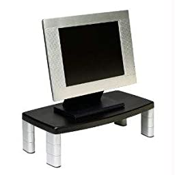 New-EXTRA WIDE MONITOR STAND 5 7/8HIGH X 16IN WIDE 17I - N02386