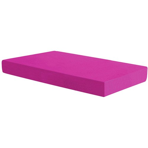 "Spa Sensations 5"" Fuschia Memory Foam Youth Mattress, Twin"
