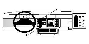 brodit-852361-brodit-proclip-852361-center-mount-pour-buick-tablette-entre-1991-et-1994