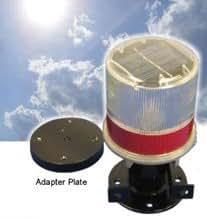 High Intensity Solar Powered Strobe Light