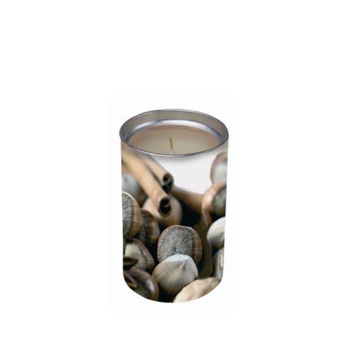 Price Candle SXL021054 - Candela profumata all'essenza di noci e spezie, colore: Marrone