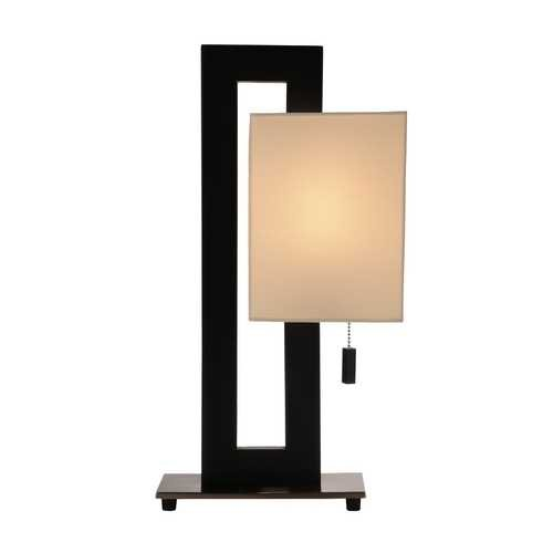 20-Inch Tall Modern Rectangle Table Lamp from Destination Lighting