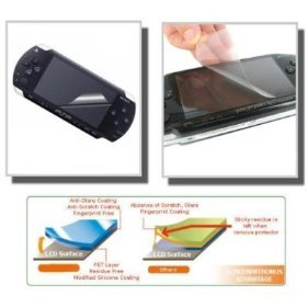 For SONY PSP LCD Screen Protector Anti Scratch GUARD