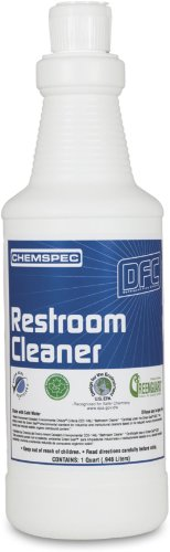 Chemspec DFCRRCCS Restroom Cleaner, 1 qt Bottles (Case of 12)