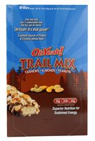 Iss Research Ohyeah! Trail Mix Bars Cashews Almonds And Peanuts -- 10 Bars