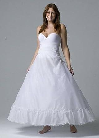 plus size full bridal gown slip style 9795w at amazon
