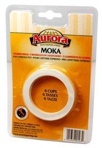 Aurora Espresso Maker Gaskets - Moka - 6 cup from Aurora