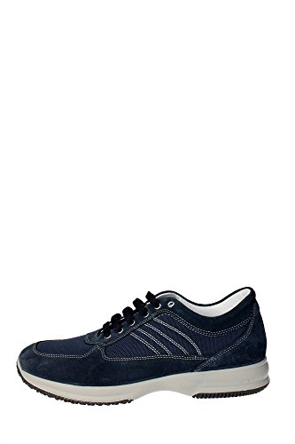 Imac 30461 Sneakers Uomo Camoscio/tessuto Blu Blu 44