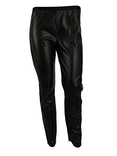 bp-studio-womens-black-echo-faux-leather-side-zip-legging-pants-xs