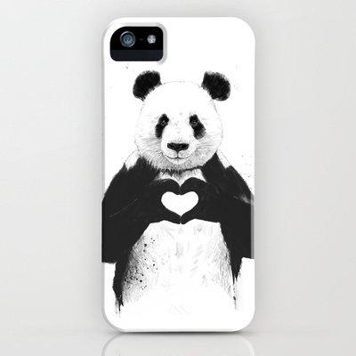 society6(ソサエティシックス) iPhone5/5sケース愛が必要だ All you need is love並行輸入品