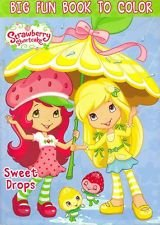 Strawberry Shortcake Coloring & Activity Book- Sweet Drops