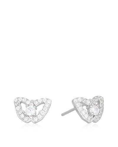 ANDREA BELLINI Pendientes «Papillons Précieux» plata de ley 925 milésimas