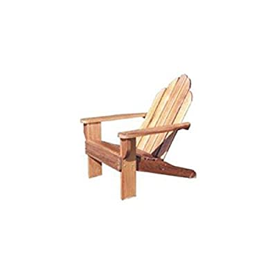 Classic Adirondack Chair Plans (Woodworking Project Paper Plan) from Woodcraft Supply
