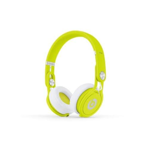 beats by dr.dre beats mixr Neon Yellowの写真01。おしゃれなヘッドホンをおすすめ-HEADMAN(ヘッドマン)-