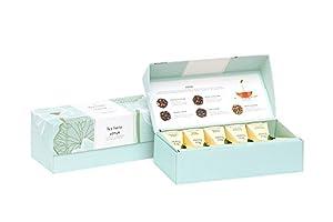 NEW Tea Forte Lotus Petite Presentation Box - Contains Ten Silken Pyramid Infusers