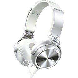 SONY 大型ヘッドホン(ヘッドバンド型・ホワイト) MDR-XB610 W 1.2mコード