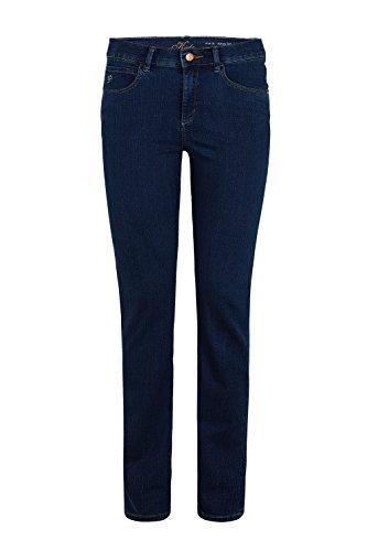 Damen Jeans der Marke Paddock's, Stil: Slim Fit, Kate (60 063 5546 000), Größe:W38/L34;Farbe:dark blue/black with using(5750)