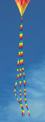 Into The Wind 15-ft. Rainbow Stripe Tail
